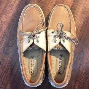 Men's 10.5 Sperry Top-sliders